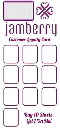 Loyalty card                                                                                                                                                                                 More