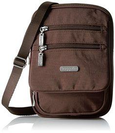 Women's Cross-Body Handbags - Baggallini Journey Crossbody Java * Visit the image link more details.