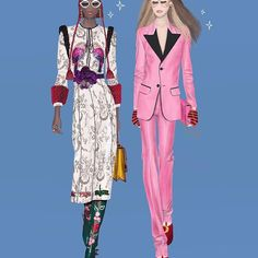 Fashion isn't about going in just one direction; I think it's very contemporary to have many different inspirations. ALESSANDRO MICHELE #Gucci #AlessandroMichele