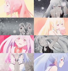 anime, gifta, girl, isla, kuudere, pastel, pink, plastic memories