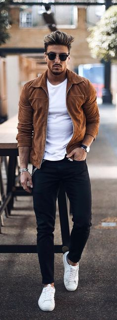""""""""""" How To Pull Of Casual Outfits In Style """""""" Elegante traje casual para hombres """""""" Stylish Casual Outfits For Men, Outfits Hombre Casual, Smart Casual Outfit, Casual Dress Outfits, Mode Outfits, Stylish Men, Men Casual Styles, Stylish Clothes For Men, Casual Man"""