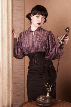 Victorian inspired fashion.
