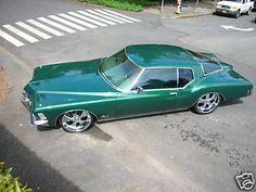 1972 - Buick Riviera Boattail - Green - Hot & Lowered - 12 by donnikowski, via Flickr
