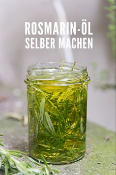 Rosemary for the hair - shampoo, rinse and rosemary oil itself .- Rosmarin fürs Haar – Shampoo, Spülung und Rosmarinöl selber machen Make rosemary oil yourself. Simple recipe for food and skin. Shampooing Diy, Rosemary For Hair, Diy Beauty Organizer, Hair Colorful, Hair Shampoo, Art Journal Pages, The Body Shop, Health Remedies, Natural Remedies