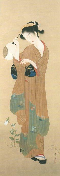 KABURAKI Kiyokata (1887-1972), Japan 鏑木清方
