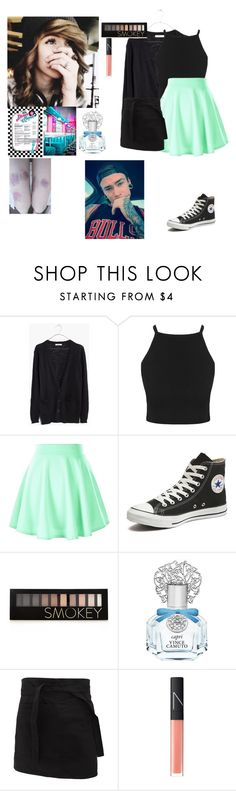 """""""*works at the diner*~Charlotte"""" by to-infinityandbeyond-anons ❤ liked on Polyvore featuring Madewell, Converse, Forever 21, Vince Camuto, NARS Cosmetics, women's clothing, women, female, woman and misses"""