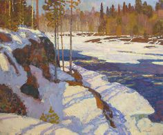 Nikolai Galakhov - Spring in Karelija