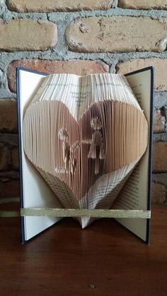 Proposal and Heart Folded Book Art Pattern  PDF Book by Foldilocks