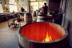 Taller de barricas de Bodegas Muga, Haro, La Rioja, Spain Bodegas Muga, Wine Cheese, Craft Beer, Vineyard, Club, Spaces, Country, Wood, Outdoor Decor
