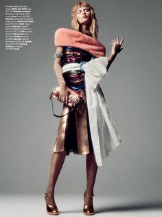 Vogue Brazil September 2016 - Yana Trufanova - Gil Inoue
