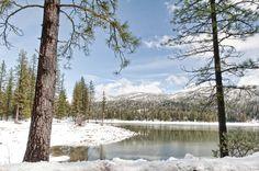 Bass Lake, California Bass Lake, World Traveler, Vacation Spots, Landscape Photography, California, Mountains, Places, Trips, Snow
