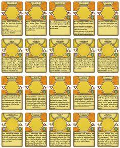 Reglas comunes a todos los juegos / Rules for all games.