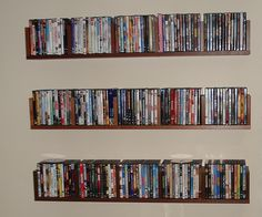 Bon Classic Wall Mounted Floating DVD Storage Cabinets   Use J/K To Navigate To  Previous And Next Images