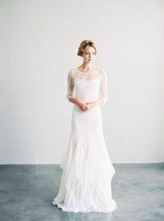 Image via We Heart It https://weheartit.com/entry/172922458 #boho #bride #dress #minimal #photography #pretty #wedding