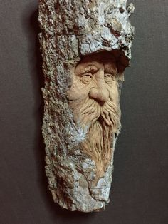 This is an original piece of art by me, Josh Carte. This is a sculpture in a piece of Cottonwood bark. It will make a perfect wood gift for him or her. This handmade woodworking is a really unique piece of wall art. I carved this face of an old man in a piece of Cottonwood bark. Yes, it is actually a real piece of bark from a Cottonwood tree. Cool, right?! I think so, too. I left this piece of bark completely natural, i.e. I didnt use a sealer, paint stain or dye on this piece. To clean…