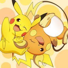 pikachu y raichu Baby Pokemon, First Pokemon, New Pokemon, Pokemon Cards, Pokemon Pins, Pokemon Stuff, Pichu Pikachu Raichu, Cute Pikachu, Cute Pokemon