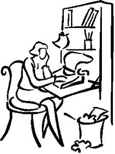 Author C. A. Salo: Writer's Block, No, Writer's ....
