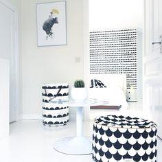 #nobodinoz • New pouf! #monochrome #Kidsroom #Decor #Home #design #Kidsdesign