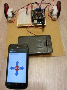 Arduino bot Android remote control