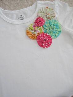 CutSewRepeat: DIY Fabric Yo-Yo's