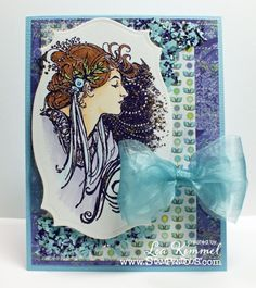 Deco Lady from Stampendous!