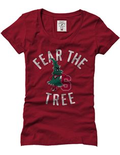 Product: 1209C Women's Fear The Tree Superfly Scoopneck Tee