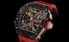 RICHARD MILLE(リシャール・ミル)RM 50-01 トゥールビヨン クロノグラフ G-センサー ロータス F1チーム ロマン・グロージャン | Gressive