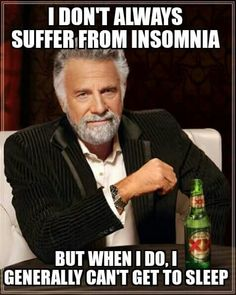 I suffer from insomnia, so I make up memes at 5am!