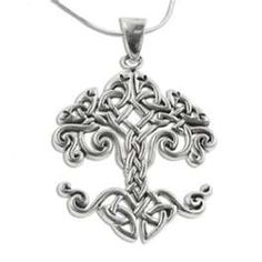 silver tree of life charm. I love the Celtic design!!!!