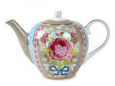 Foto 1 - Bule De Porcelana Floral Azul 1600 Ml - Pip Studio Pip Studio, Wedding Gift List, Chocolate Pots, High Tea, Cup And Saucer, Dinnerware, Tea Party, Tea Cups, Shabby Chic