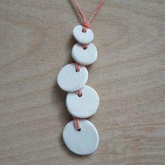 cute porcelain necklace