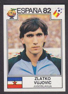 Panini - Espana 82 World Cup - # 323 Zlatko Vujovic - Jugoslavija