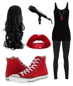"""""""Untitled #27"""" by riasoccer on Polyvore featuring rag & bone, T By Alexander Wang and Converse"""
