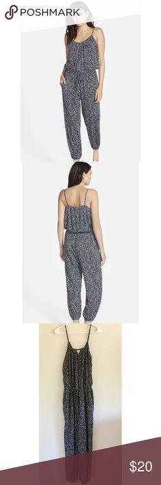 Selling this Hinge Print Jumpsuit on Poshmark! My username is: coleeescloset. #shopmycloset #poshmark #fashion #shopping #style #forsale #Nordstrom #Pants