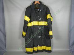 Vtg Midwestern FDNY NY Fire Dept Summer Firefighter Jacket Coat Size 42/44 NR!