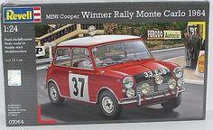 Mini Cooper Rally Winner Monte Carlo 1964 Revell #07064 1/24 Scale New