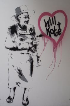 Banksy On Bond Street?... No Its A Rich Simmons And It Has Been Stolen...