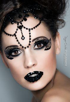 Beautiful! #creative #makeup #art