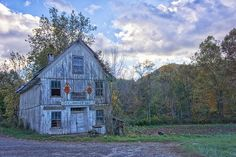 old abandoned building along the Cane River, in the Pensacola  Valley, outside Burnsville, NC.