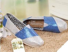 fresh and ready for your feet,TOMS shoes,god...SAVE 70% OFF! this is the best! | See more about glitter shoes, toms shoes outlet and toms outlet stores.