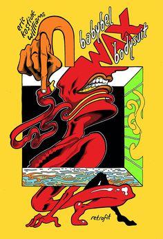 Babybel Wax Bodysuit, by Eric Kostiuk Williams (Retrofit/Big Planet) #comics #inspiration