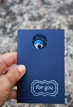 card invito mostro
