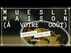 Demi-tarif - Muesli maison à votre goût | Cuisine de Salon