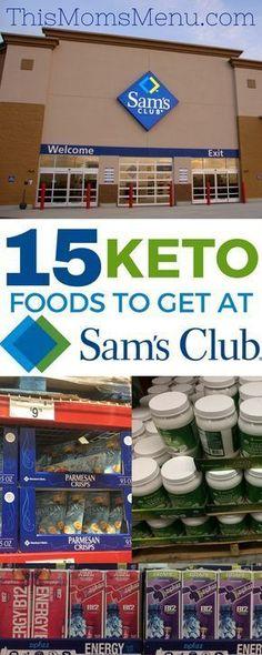 Keto at Sam's Club - Check out this list before your next #samsclub #keto or #lowcarb grocery trip!