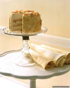 Almond Crunch Ice Cream Cake Recipe