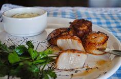 Невыразимая легкость кулинарного бытия...: Жареные морские гребешки