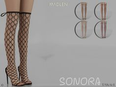 Sims 4 CC's - The Best: Madlen Sonora Boots by MJ95