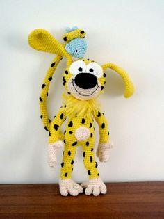 Marsipulami free downloadable crochet pattern