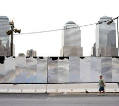 wtc construction fence proposal