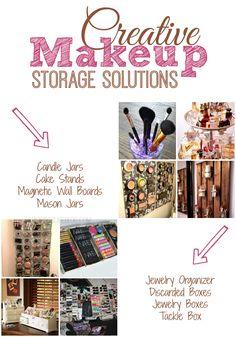 Creative Makeup Storage Solutions